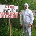 В Новгородском районе отмечен очаг африканской чумы свиней