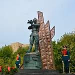 В Московской области открыли первый в России памятник фронтовому кинооператору