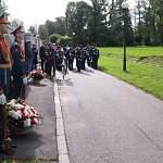На Пискарёвском кладбище открыта мемориальная доска в память новгородцев — защитников блокадного Ленинграда