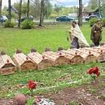 111 павших солдат обрели покой на воинском захоронении в Демянском районе