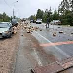Похожая на сцену из фильма ужасов авария на новгородской дороге обошлась без жертв