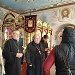 Представители Московской патриархии посетили храм в городе Пестово, который вскоре отметит 200-летний юбилей
