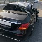 В Великом Новгороде в ДТП на Сырковском шоссе пострадали две маленькие девочки