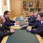 Андрей Никитин обсудил с Сергеем Люлиным развитие системы высшего образования в Новгородской области
