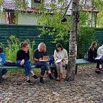 Юные художники посетили места Достоевского в Старой Руссе