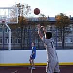 Многофункциональная спортплощадка в Шимске открыта, впереди — строительство ФОКа