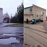Было-стало: в Малой Вишере важный участок Новгородской улицы приобрел цивилизованный вид
