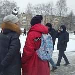 Не дождавшись шествия, участники незаконного митинга в Великом Новгороде начали расходиться