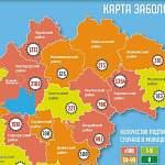 В 16 из 22 муниципалитетов Новгородской области за сутки выявили новые случаи COVID-19