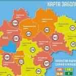 14 февраля в 14 муниципалитетах Новгородской области зарегистрировали 114 случаев коронавируса