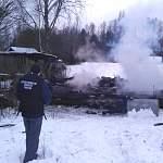 В Маревском районе на пожаре погибла женщина