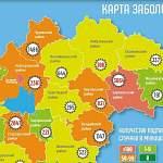 В Новгородской области новые случаи коронавируса отметили в 7 муниципалитетах из 22-х