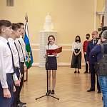 Новгородские гимназисты из профильного класса следственного комитета дали торжественную клятву