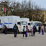 Сегодня новгородцы могут пройти вакцинацию от COVID-19 прямо на Софийской площади