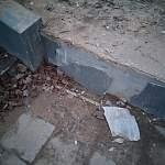 Новгородцев удивило состояние недавно отремонтированных сходов с моста Александра Невского
